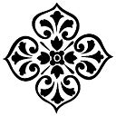 "Accent Stencil 4""X5""-Medallion by American Traditional: Product Image"