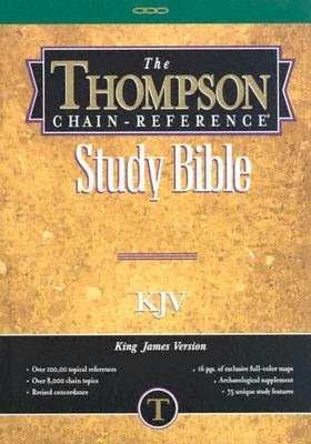 Thompson Chain-Reference Study Bible: King James Version (KJV) with concordance