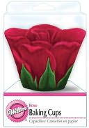 Baking Cups-Red Rose Petal 24/Pkg-Standard by Wilton: Product Image