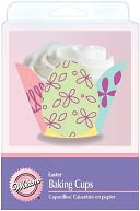 Baking Cups-Decorated Egg 24/Pkg-Fancy Standard by Wilton: Product Image