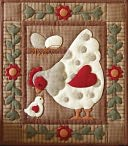 "Spotty Hen Quilt Kit-13""X15"" by Rachel's Of Greenfield: Product Image"