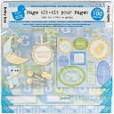 "Baby Boy Page Kit 12""X12"" by Colorbok: Product Image"