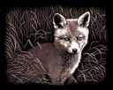 Copperfoil Kit 8&quot;X10&quot;-Fox Cub by Reeves: Product Image