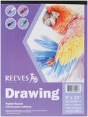 "Drawing Paper Pad 9""X12""-50 Sheets-70lb by Reeves: Product Image"