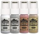 Adirondack Metallics Acrylic Paint Dabbers 1 Ounce Bottle-Gold by Ranger: Product Image