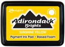 Adirondack Brights Pigment Inkpads-Sunshine Yellow by Ranger: Product Image
