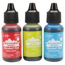 Adirondack Brights Alcohol Ink .5 Ounce 3/Pkg-Dockside Picnic-Watermln/Citrus/Sailboat by Ranger: Product Image