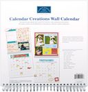 "Wall Calendar For 12""X12"" Scrapbook Pages-Blank by Karen Foster: Product Image"