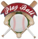 Baseball Lil' Stack 3-D Sticker-Play Ball by Karen Foster: Product Image