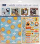 "Calendar Creations Creative Kit-(12) 12""X12"" Papers, (12) Month Stickers by Karen Foster: Product Image"