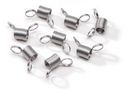Mini Bead Stopper 8/Pkg-Metal by Darice: Product Image
