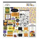 "Doodlebug Page Kits 12""X12""-Let's Kit Together Halloween by Doodlebug: Product Image"