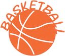 Cardstock Laser Die-Cuts-Basketball by Scrapbook 101: Product Image