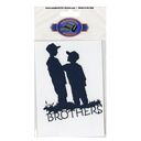 Cardstock Laser Die-Cuts-Brothers by Scrapbook 101: Product Image