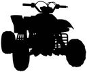 Cardstock Laser Die-Cuts-ATV by Scrapbook 101: Product Image
