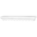 "Fashion Furnishings Scalloped Shelf 23.5""X3""X5""-White by Doodlebug: Product Image"