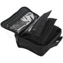 Quilted Cotton Petite Organizer-5&quot;X6.4&quot;X2.6&quot; Black by Yazzii: Product Image