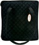 Quilted Cotton Supreme Organizer-27.5&quot;X12.7&quot;X2.7&quot; Black by Yazzii: Product Image