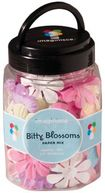 Bitty Blossoms Mix 1.5&quot; 100/Jar-Assorted Colors by Imaginisce: Product Image