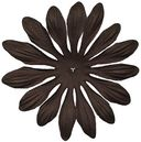 Bazzill Paper Flowers-Brown Gerbera 4&quot; 6/Pkg by Bazzill: Product Image
