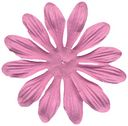 Bazzill Paper Flowers-Petunia Gerbera 3&quot; 6/Pkg by Bazzill: Product Image