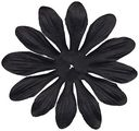 Bazzill Paper Flowers-Raven Gerbera 3&quot; 6/Pkg by Bazzill: Product Image