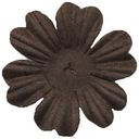 Bazzill Paper Flowers-Brown Primula 1.5&quot; 10/Pkg by Bazzill: Product Image
