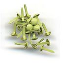 Bazzill Brads 5mm 75/Pkg-Parakeet by Bazzill: Product Image