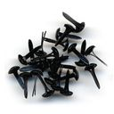 Bazzill Brads 5mm 75/Pkg-Black by Bazzill: Product Image