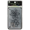 "Bazzill In Stitch'z Templates 3""X4"" 4/Pkg-In The Garden by Bazzill: Product Image"