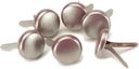 Bazzill Bling Brads 10mm 18/Pkg-Flat Broke by Bazzill: Product Image