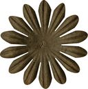Bazzill Paper Flowers-Pinecone Daisy 2&quot; 10/Pkg by Bazzill: Product Image