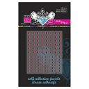 Bazzill Self-Adhesive Jewels 3mm &amp; 4mm Mix 108/Pkg-Pink Fairy by Bazzill: Product Image
