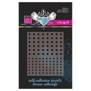 Bazzill Self-Adhesive Jewels 3mm &amp; 4mm Mix 108/Pkg-Cardinal by Bazzill: Product Image
