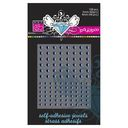 Bazzill Self-Adhesive Jewels 3mm &amp; 4mm Mix 108/Pkg-Pauly Poo by Bazzill: Product Image