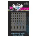 Bazzill Self-Adhesive Jewels 3mm &amp; 4mm Mix 108/Pkg-Fawn by Bazzill: Product Image