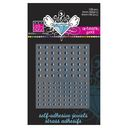 Bazzill Self-Adhesive Jewels 3mm &amp; 4mm Mix 108/Pkg-Artisian Pool by Bazzill: Product Image