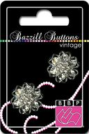 Bazzill Vintage Buttons-Alexandria 1&quot; 2/Pkg by Bazzill: Product Image