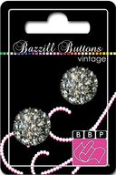 Bazzill Vintage Buttons-Catherine 1&quot; 2/Pkg by Bazzill: Product Image