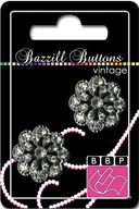 Bazzill Vintage Buttons-Charlotte 1&quot; 2/Pkg by Bazzill: Product Image