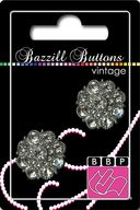 Bazzill Vintage Buttons-Helene 1&quot; 2/Pkg by Bazzill: Product Image