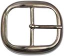 "Belt Buckle 1.5""-Nickel by Silver Creek: Product Image"