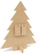 "Beyond The Page MDF Days 'Til Christmas Countdown Tree-12.125""X9.75""X3.875"" by Kaisercraft: Product Image"