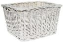 Medium Wicker Basket-White by Imagine This!: Product Image