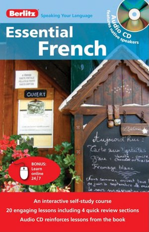 Berlitz Essential French [With CD (Audio)]