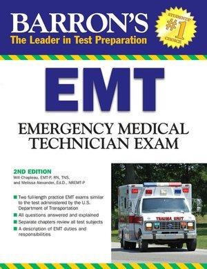 Barron's EMT Exam Emergency Medical Technician cover