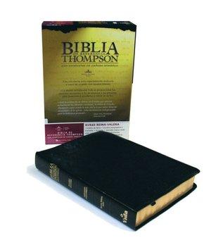 Biblia de Referencia Thompson: 1960 Reina-Valera Revision, piel especial negra (Thompson Chain-Reference Study Bible, black bonded leather)