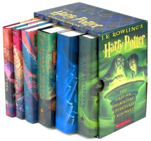Harry Potter Hardcover Boxed Set, Books 1-6