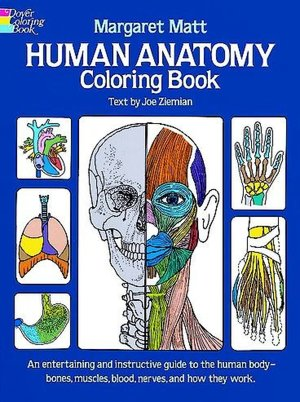 Human Anatomy Coloring Book  [UT]