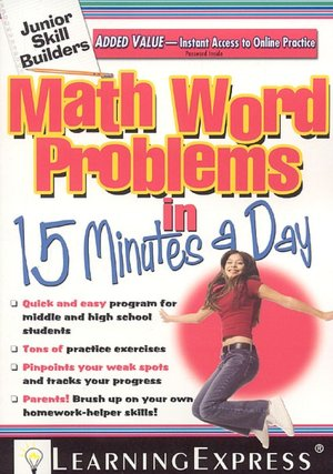Bestsellers books download free Math Word Problems in 15 Minutes a Day iBook MOBI RTF